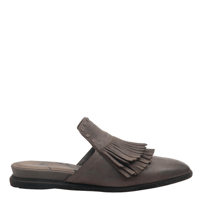 Womens slide gleam stone side