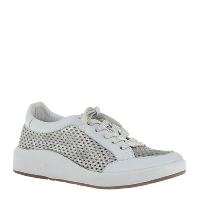 Womens sneaker joyce in grey silver