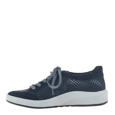 Womens Sneaker Joyce King Blue left