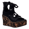 Womens wedge Kentucky in black