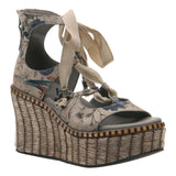 KENTUCKY in NEW BEIGE Wedge Sandals