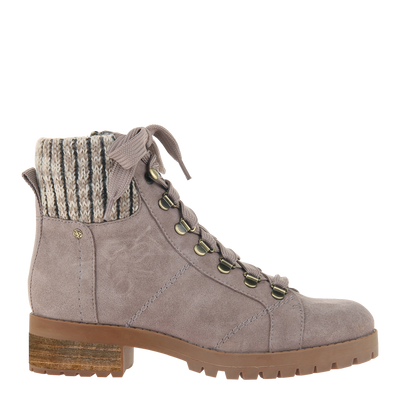 Womens ankle boot Lakewood in pine bark side