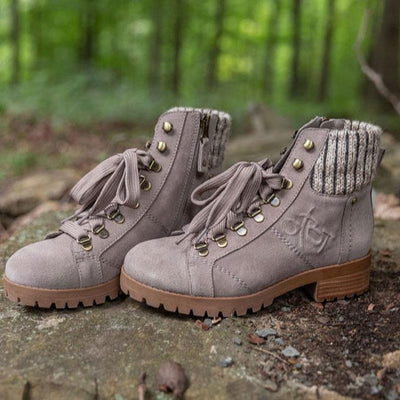 womens boot lake wood pine bark