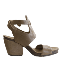 OTBT, Lee, Mint, Square heel sandal with ankle buckle