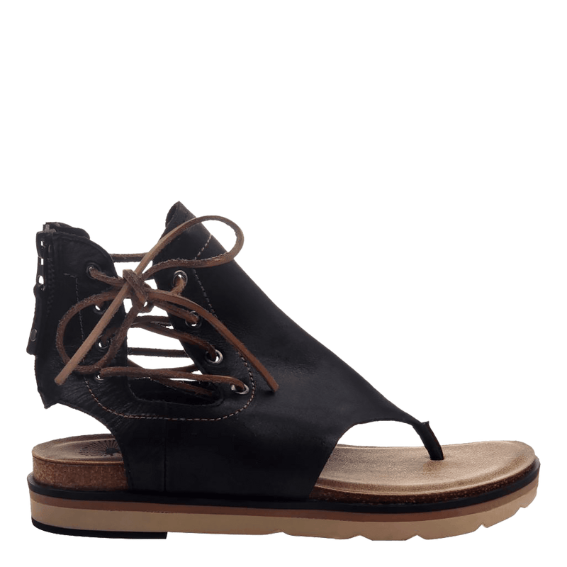 Womens sandal locate in black