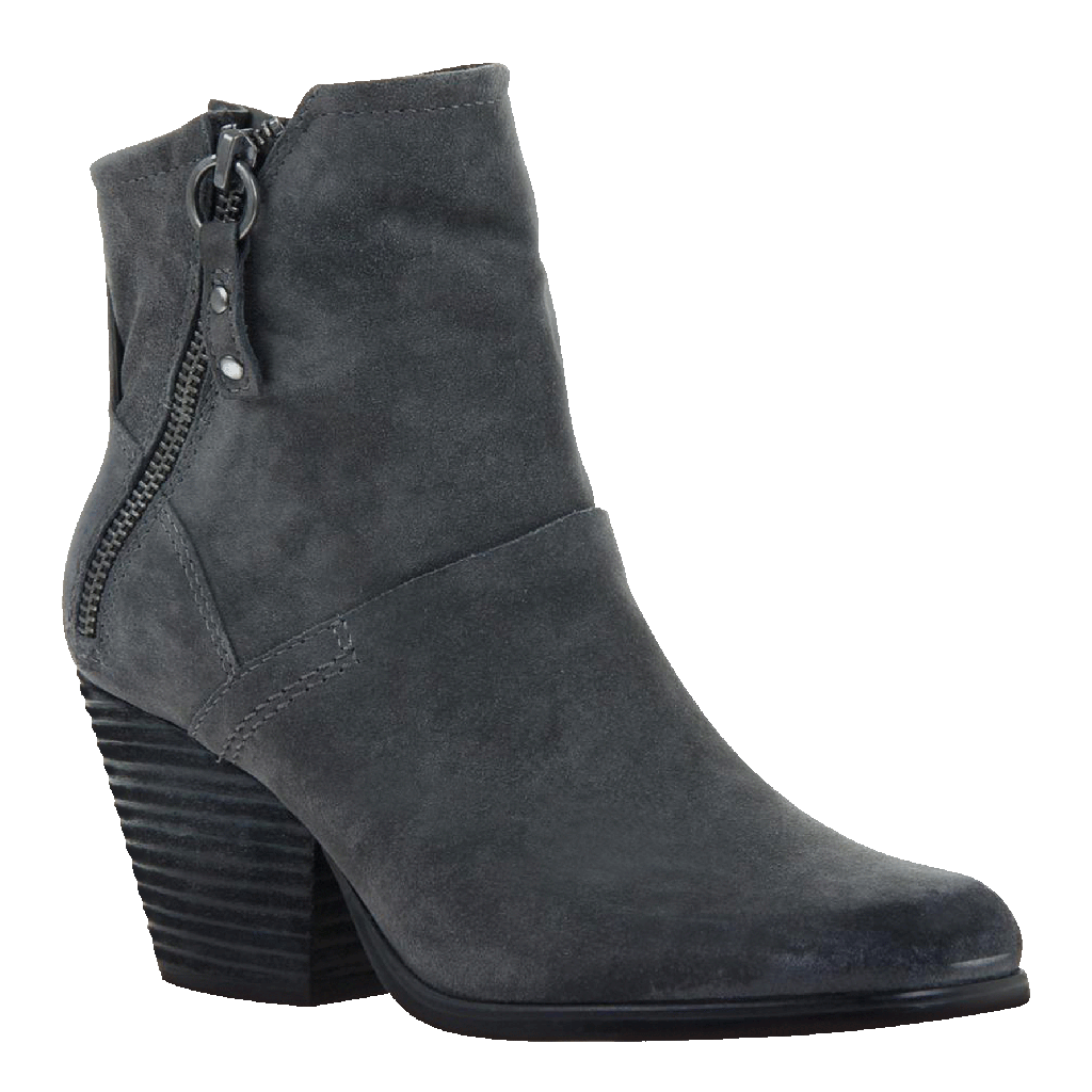 Long Rider in Dark Grey Ankle Boots
