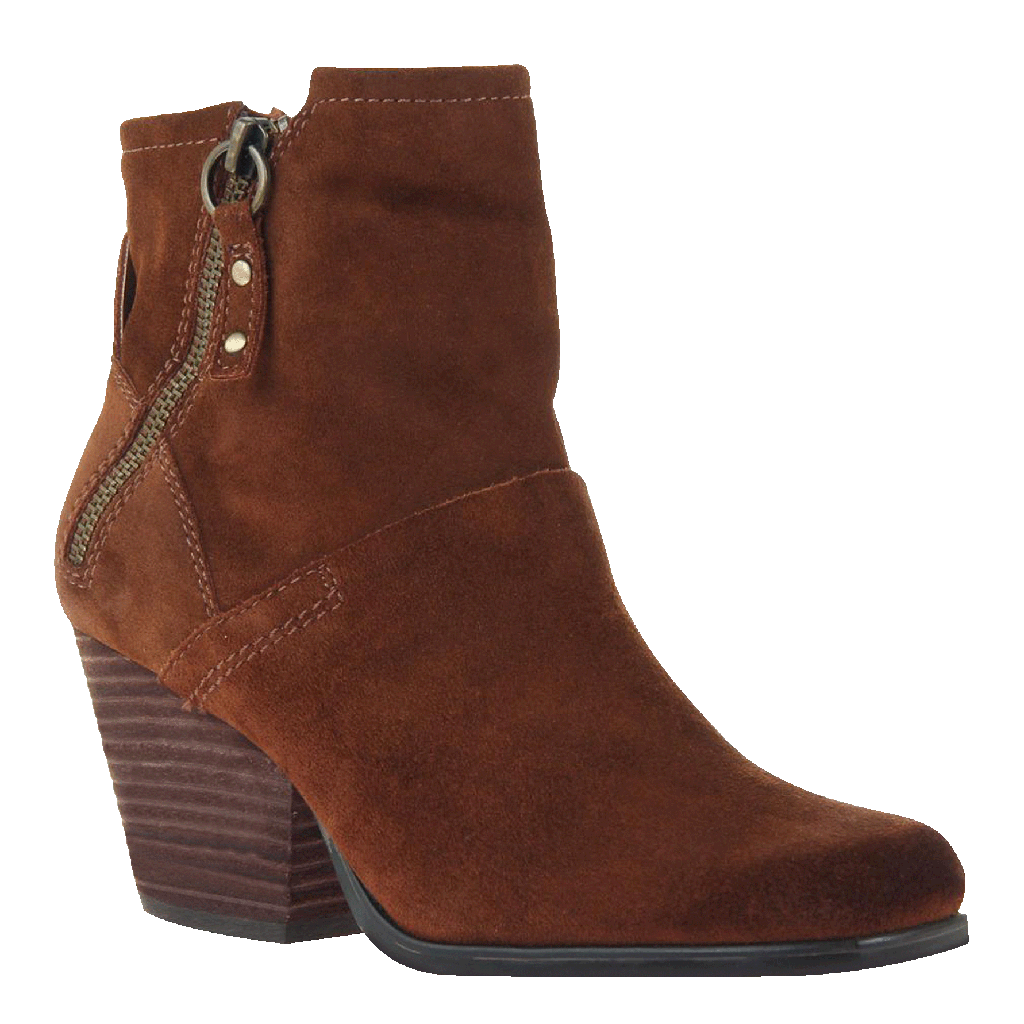 Womens ankle boot long rider in new tan