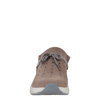 Womens sneaker marriet in cacao front view