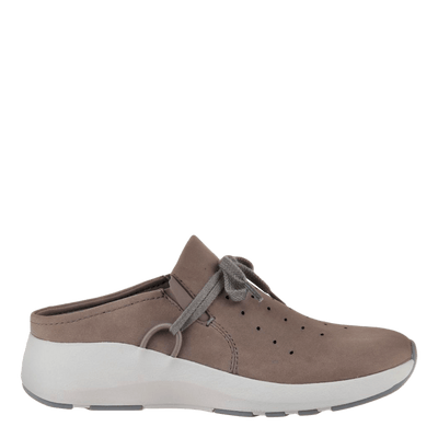 Womens sneaker marriet in cacao side view
