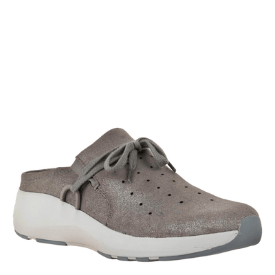 Womens sneaker Marriet in grey pewter