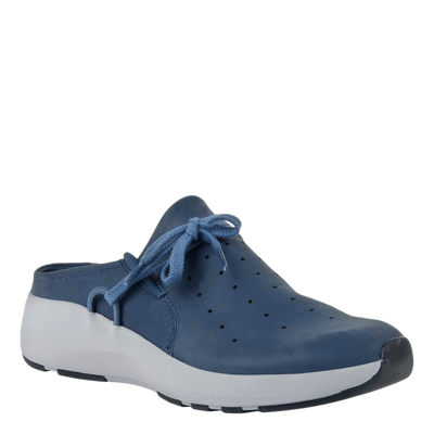 Womens sneaker marriet in new blue
