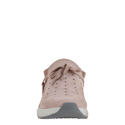 Womens sneaker marriet in warm pink front