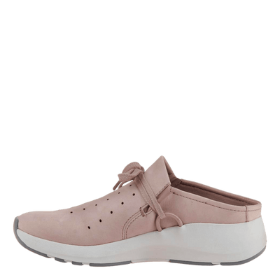 Womens sneaker marriet in warm pink inside view