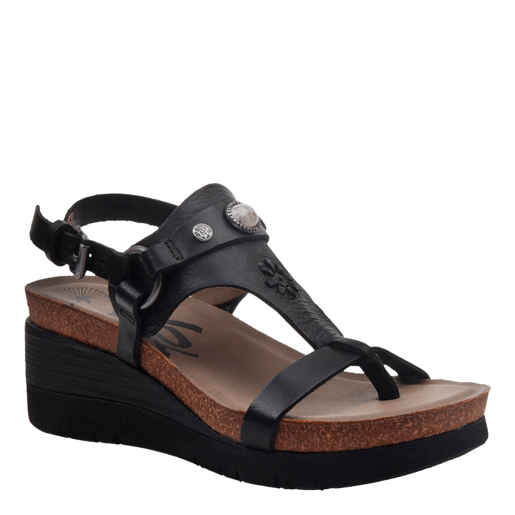 Womens wedge Maverick new black