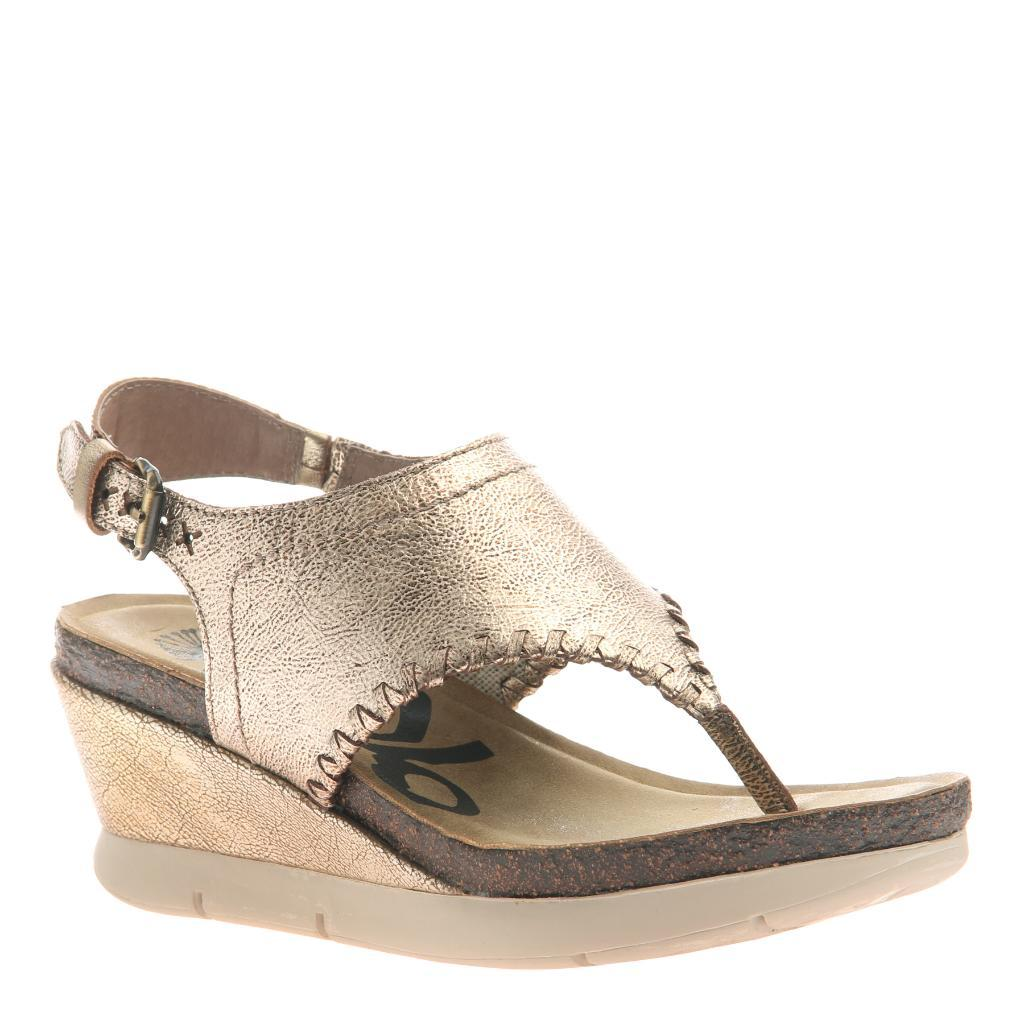MEDITATE in GOLD Wedge Sandals. No reviews