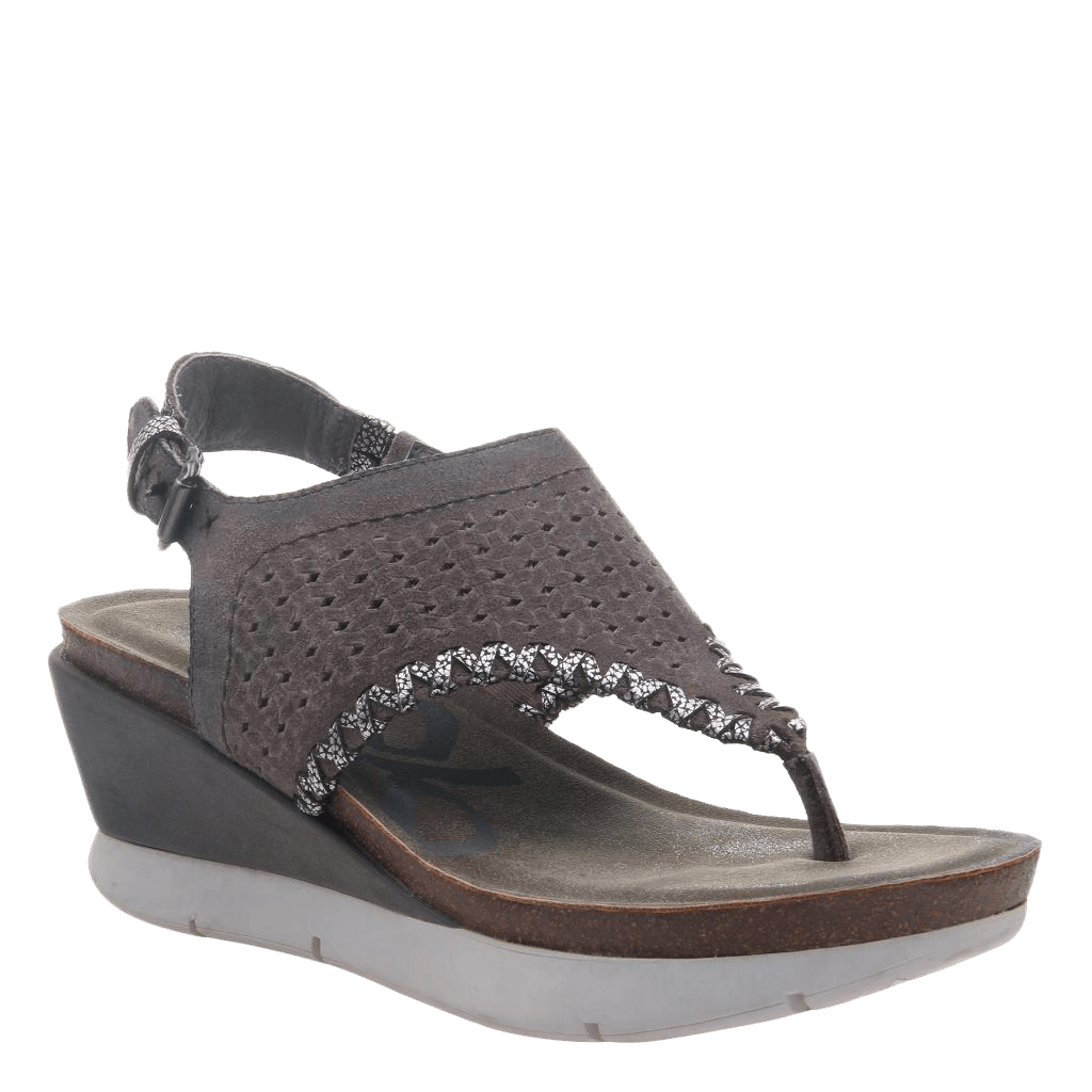 Women's wedge meditate stone
