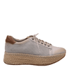 Womens sneaker Meridian Dove Grey side
