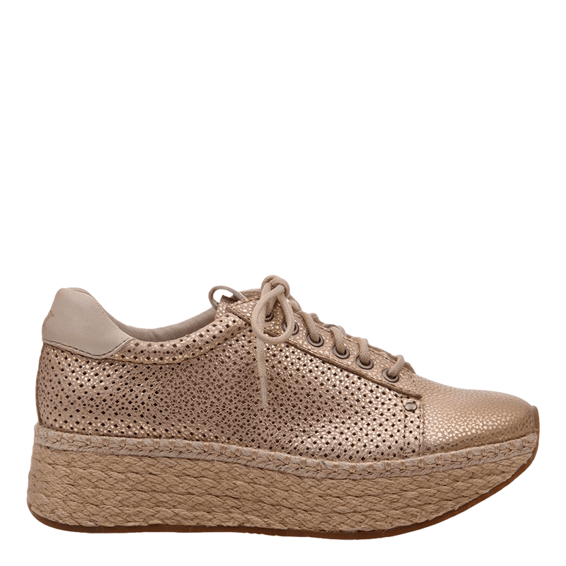 Womens sneaker Meridian New Gold