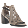 Womens heeled sandal Metaphor in Stone