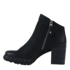 Womens ankle boot Montana in black inside view