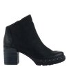 Womens ankle boot Montana in black side view