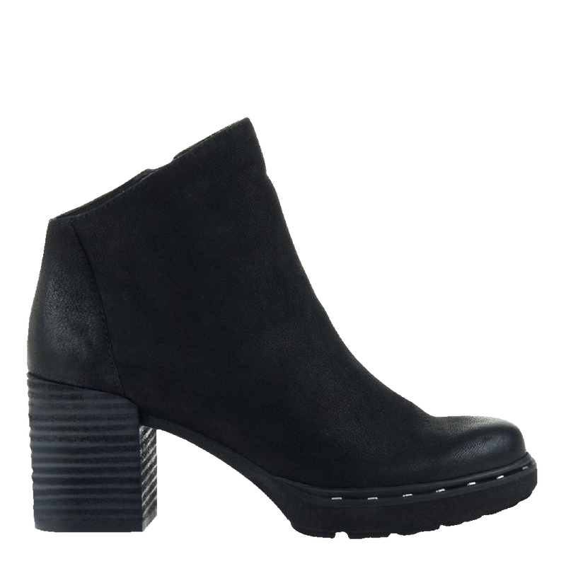 Womens ankle boot Montana in black