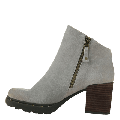 Montana stone ankle boot inside view