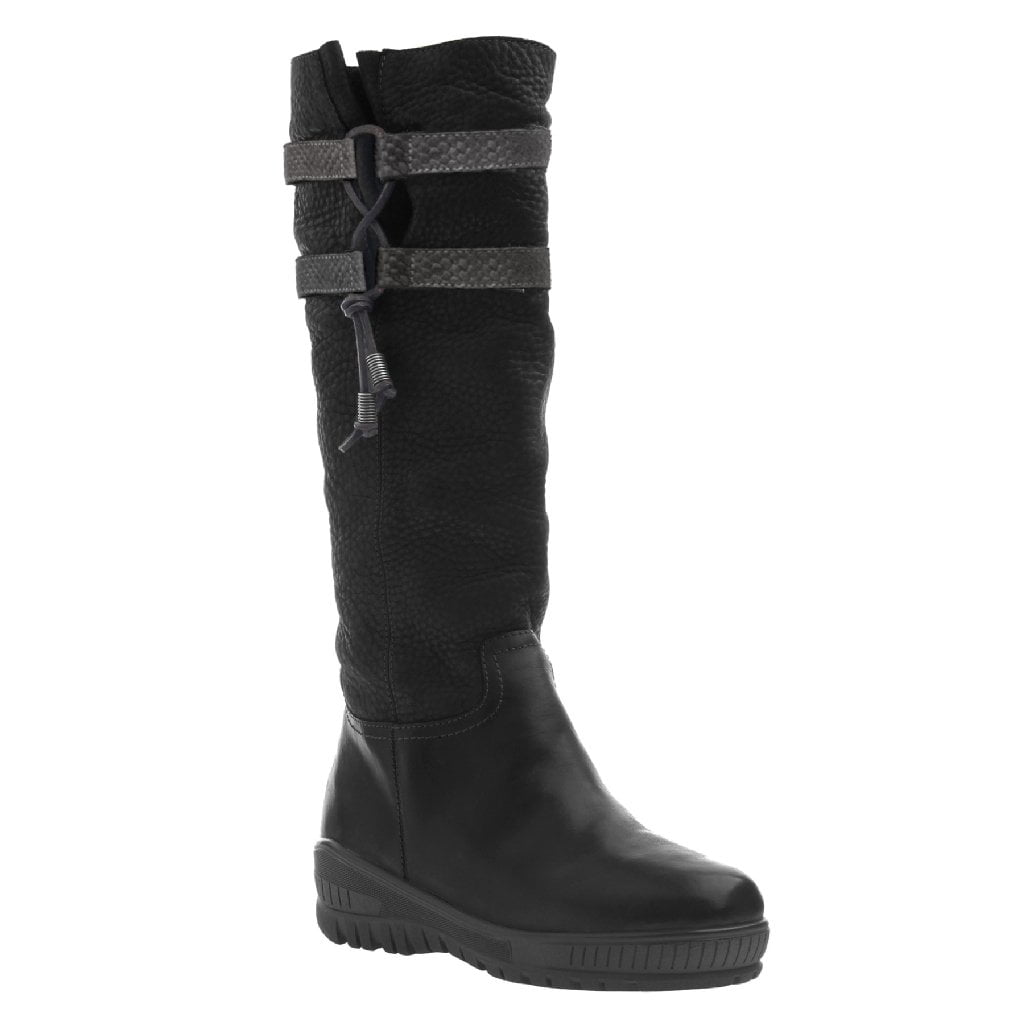 MOVE ON in BLACK Cold Weather Boots
