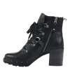 Womens ankle boot Oregon in black inside view