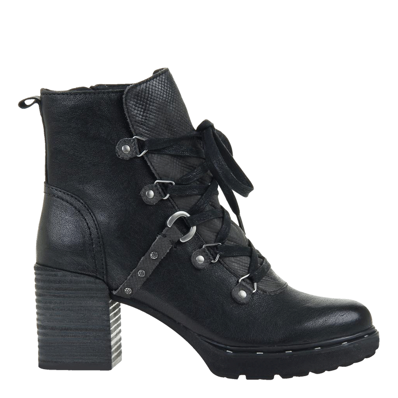 Womens ankle boot Oregon in black