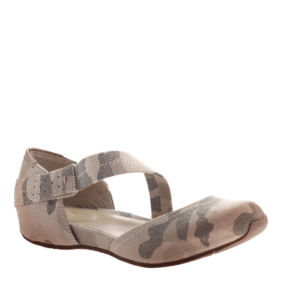 OTBT, Pacific City, Light Camo, Flat with top strap