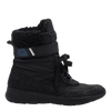 Womens cold weather boot pioneer in black side view