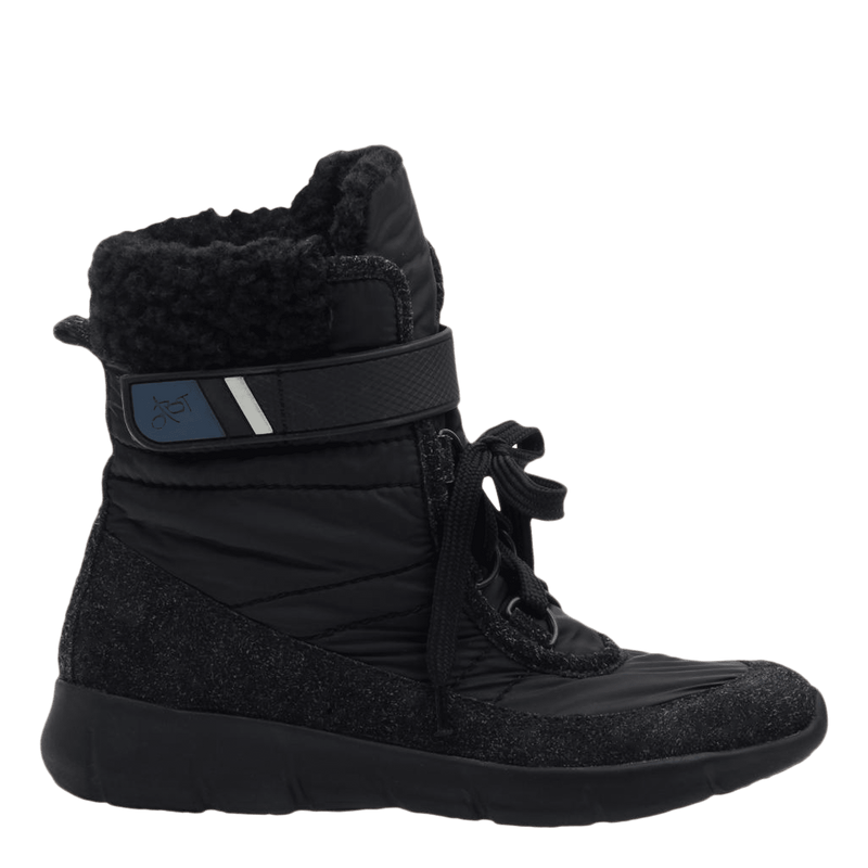 Womens cold weather boot pioneer in black