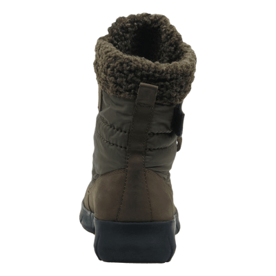 Womens cold weather boot pioneer in mint back view