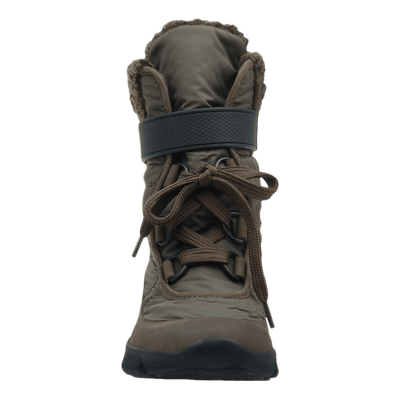 Womens cold weather boot pioneer in mint front view