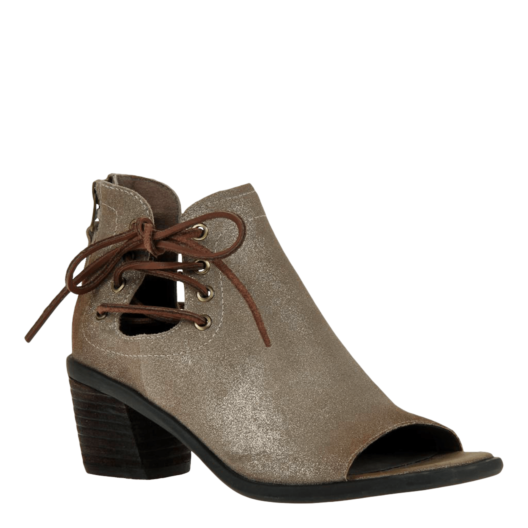 Womens heeled sandal prairie in taupe