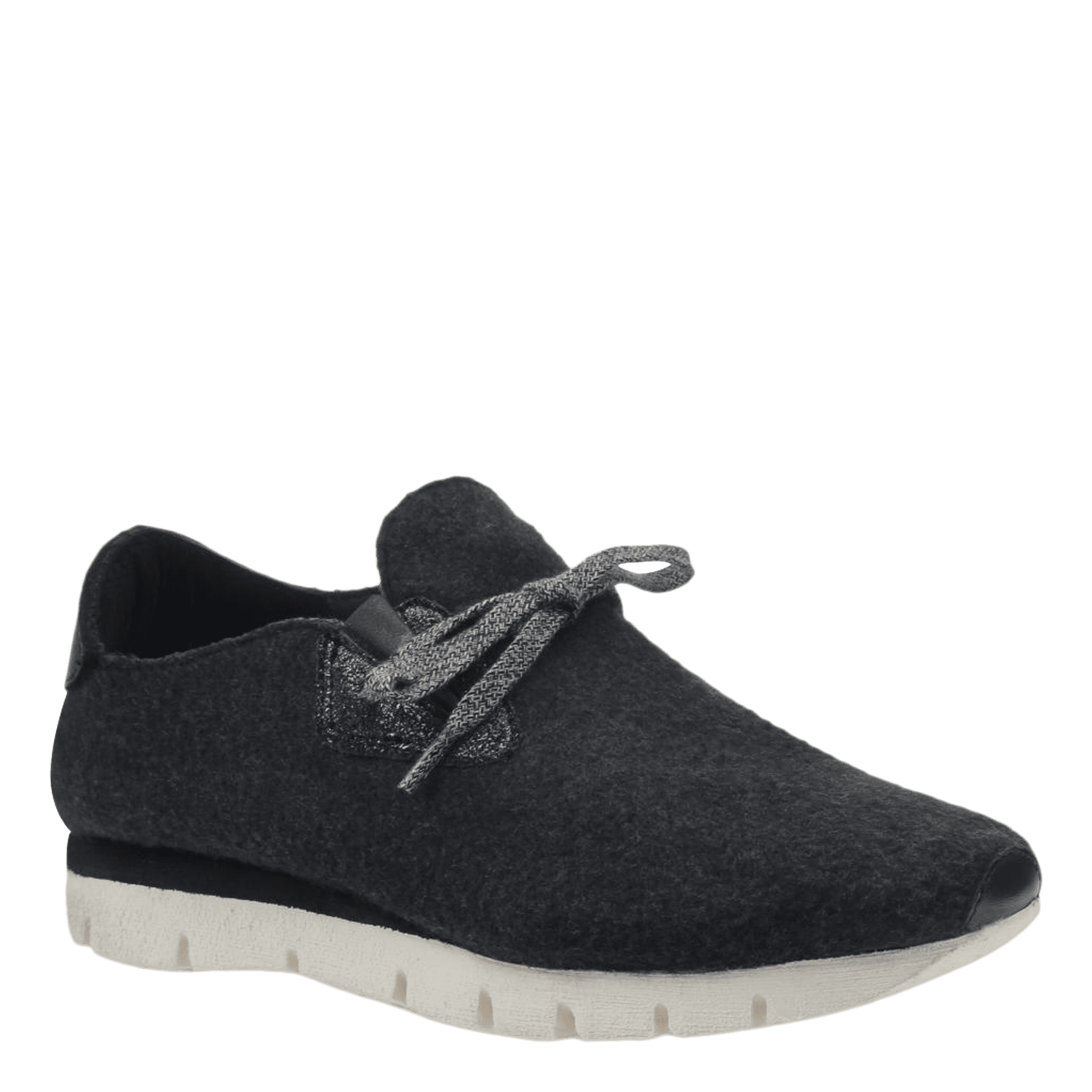 Womens wool sneaker radius in charcoal