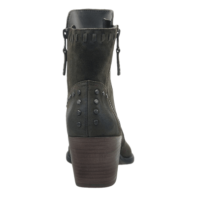 Womens boot red eye sable back