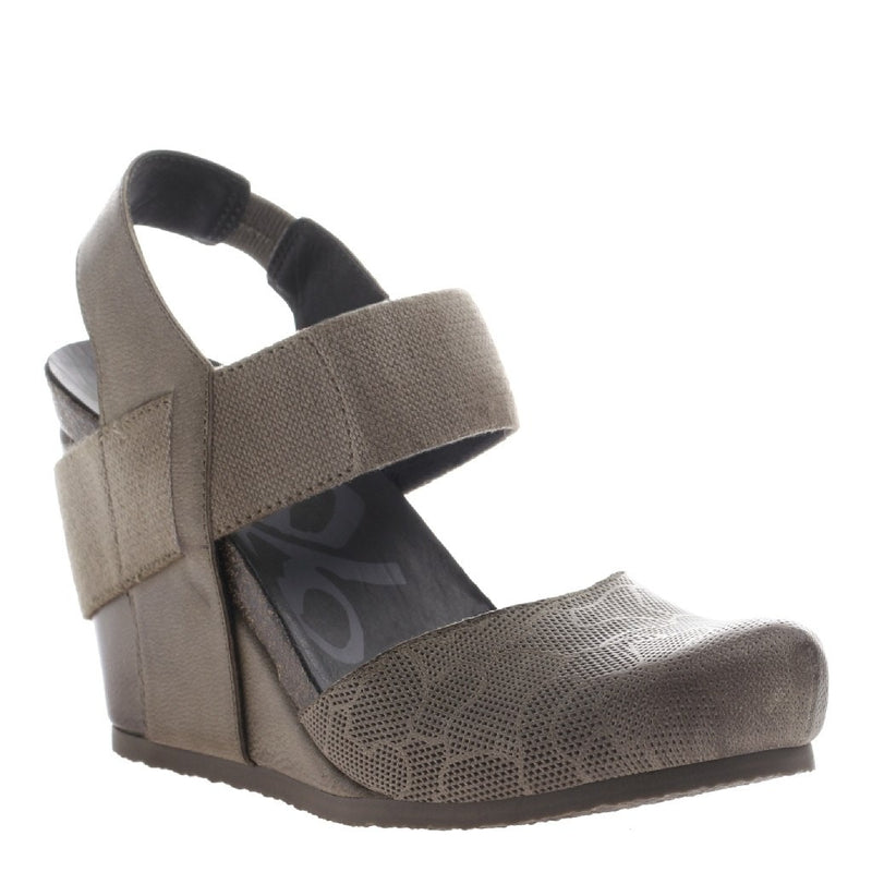 OTBT, Rexburg, Dust Grey, Wedge heel with thick straps