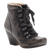 OTBT, Ritchie, Beige Black, Lace up boot with fur lining