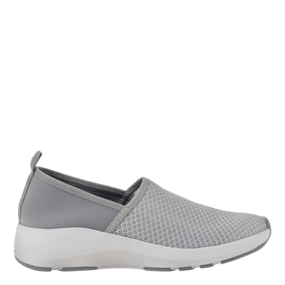 OTBT womens sneakers Royce in new bone side view