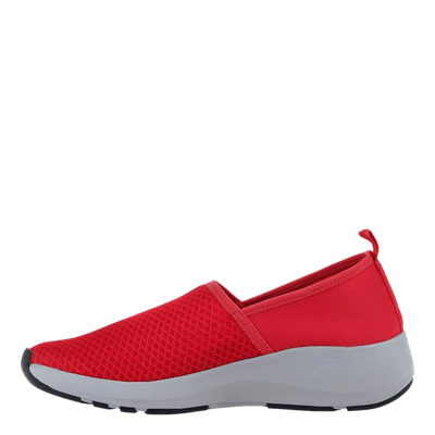 OTBT womens sneakers Royce in red inside view