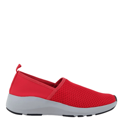 OTBT womens sneakers Royce in red side view