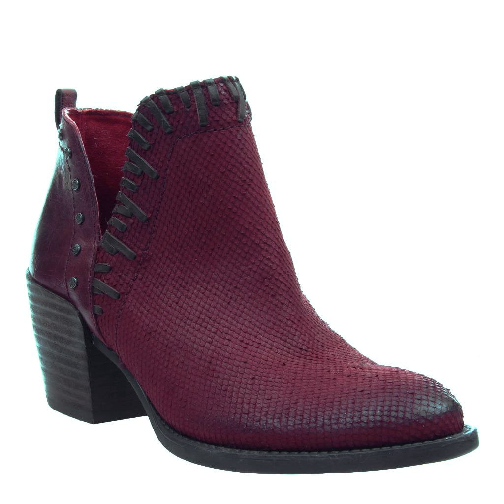 SANTA FE in NEW RED Ankle Boots