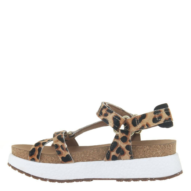 SHIFT in LEOPARD PRINT Heeled Sandals