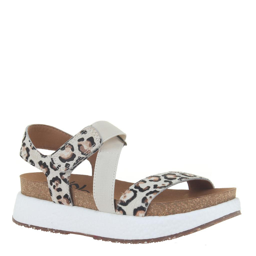 SIERRA in ANIMAL PRINT Wedge Sandals