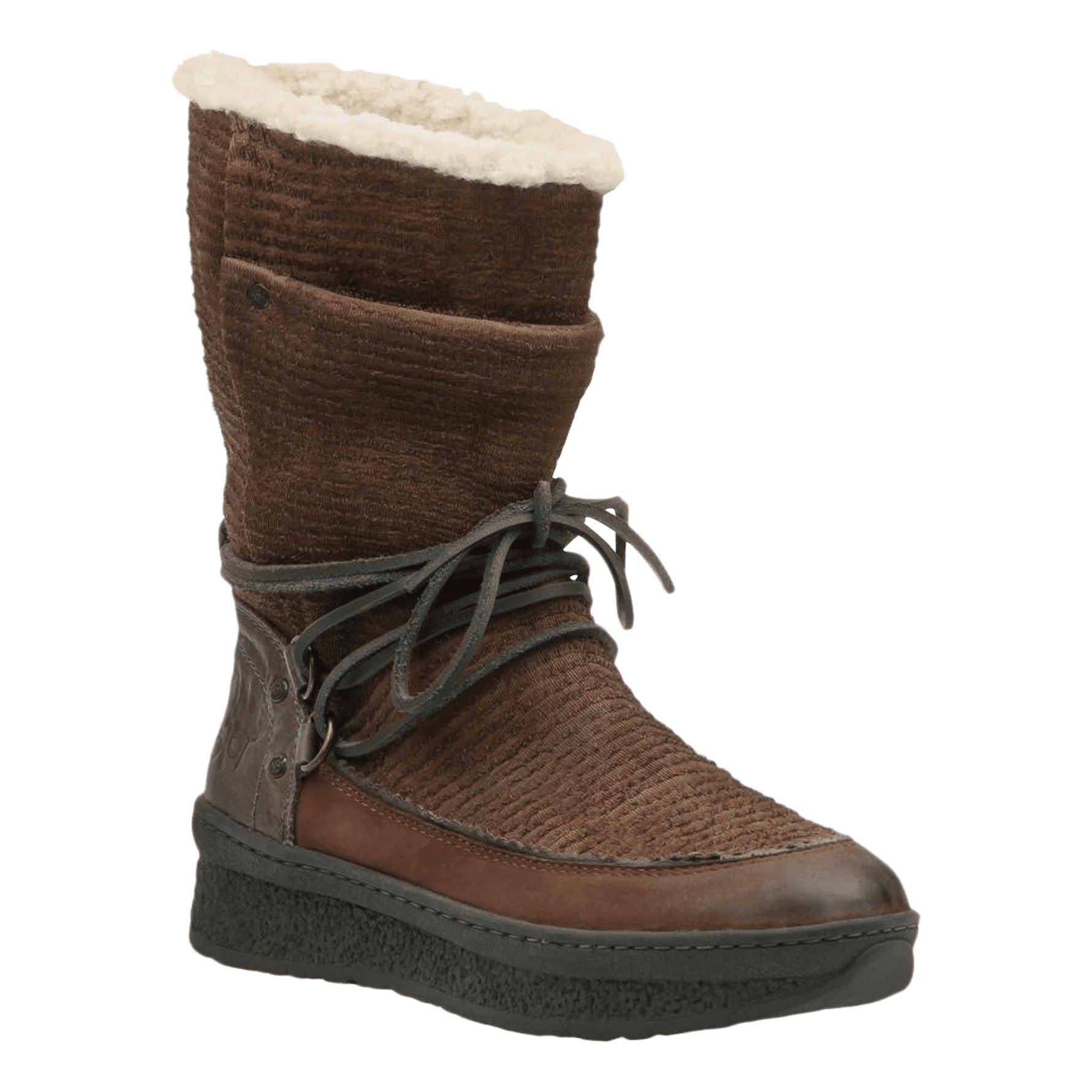 Womens cold weather boot slope in acorn