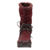 Womens cold weather boot slope in copper front view