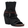 Womens black ankle boot sojourn black