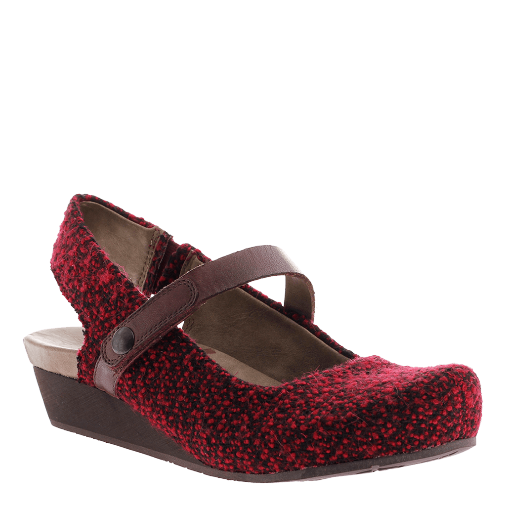 OTBT, Springfield, Currant, Updated mary jane with top strap
